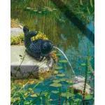 Heissner Teichfigur mit Speierfunktion ''Fisch'' 18 x 16 x 13 cm (GLO692553464)