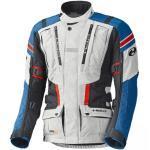 Held HAKUNA II Motorrad Adventure Textiljacke grau blau (Größe: XL)