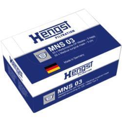 Hengst MNS03 Medizinischer Einmalmundschutz nach EN 14683 Typ II, weiß