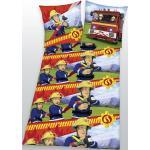 Herding Kinderbettwäsche Flanell Feuerwehrmann Sam 135 x 200 cm (GLO706103046)