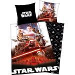 Herding Renforcé Wendebettwäsche Star Wars bunt 135x200 cm (80x80 cm)