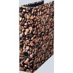 Herlitz Ordner A4, Kaffee, 80 mm, Einband cellophaniert, Griffloch u. Schlitze