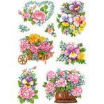 HERMA 3354 Decorsticker Schmucketikett Blumen-Gestecke