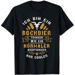 Herren Bockbier Trinker Starkbier Saufen Alkohol Bierzelt Geschenk T-Shirt