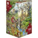 Heye HY29414 Verlag Fairy Tales, Prades Puzzle, Brown