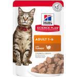 Hills Science Plan Feline Adult Frischebeutel Truthahn 12 x 85 g-12 x