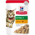 Hills Science Plan Feline Kitten Frischebeutel Huhn 12 x 85 g-12 x 85