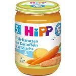 Hipp Babymenü Früh-Karotten mit Kartoffeln & Wildlachs nach dem 4. Monat/ ab dem 5.Monat (190 g)