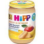 Hipp Frucht & Getreide Apfel-Banane mit Babykeks nach dem 4. Monat (190 g)