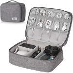Hivexagon Elektronische Tasche - Elektronik zubehör organisator - universal travel Kabel Organizer Tasche für Bag Accessories Handy Ladekabel, Powerbank, USB Sticks, SD Karten