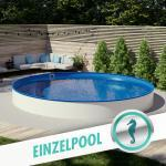 Blaue Hobby Pool Runde Einbaupools