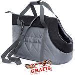 HobbyDog TORGZC6 + Spieltau gratis Transport Bag Transporttasche für Hunde und Katzen Hundetasche Katzentasche Transporttasche Tragetasche Transportbox (3 Verschiedene Größen) (R1 (20 x 36 cm))