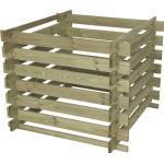 Holz-Komposter 100 x 70 x 100 cm, kesseldruckimprägniert (GLO692503693)