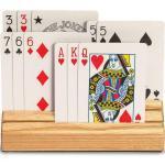 Holz Spielwerkzeug Kartenhalter Spielkartenhalter Zubehör für Kartenspiel