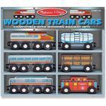 Holzeisenbahn - Loks und Waggons