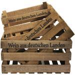 Holzkiste Wein aus deutschen Landen 3er Set