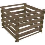 Holzkomposter Stecksystem 100x100x 70 cm kesseldruckimprägniert