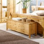 Holztruhe aus Kiefer Massivholz Landhausstil