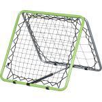 HOMCOM Rückprallwand faltbar grau, grün, schwarz 75 x 75 x 64 cm (BxTxH) Rebounder Kickback Fußballnetz Gartenspielzeug