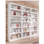 Home affaire Bücherwand Bergen, aus schönem massivem Kiefernholz, 3 tlg. weiß Bücherwände Bücherregale Regale