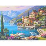 Home affaire Deco-Panel SUNG KIM / Villa Bella Vista, 80/60 cm bunt Kunstdrucke Bilder Bilderrahmen Wohnaccessoires