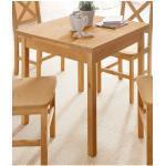 Home affaire Esstisch, affaire, Breite 80cm, mit Auszugsfunktion braun Esstisch Esstische Tische Möbel sofort lieferbar