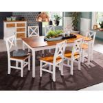 Home affaire Esstisch Marta, in 4 Farben und 3 Größen weiß Holz-Esstische Holztische Tische