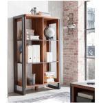 Home affaire Mehrzweckregal Detroit, Höhe 140 cm, im angesagten Industrial-Look braun Standregale Regale Garderoben