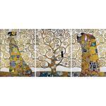 Reduzierte Goldene Moderne Home Affaire Bildersets B 50 cm, H 50 cm, L 50 cm
