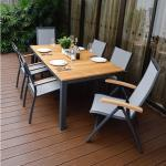 """Home Islands Gartenmöbel-Set mit Stuhl """"Yuri"""" und Tisch """"Sumatra"""""""