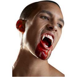 Horror-Shop Scarecrow Vampirzähne XL