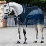 Horseware Rambo Show Net Cooler - navy/white - Abschwitzdecke - Fliegendecke