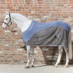Horseware Rambo Sport Cooler - China blue/Charcoal, china blue and white - Abschwitzdecke - Fliegendecke