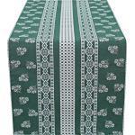 HOSSNER - HOMECOLLECTION Tischläufer »Nigel« (1-tlg), grün, grün-natur