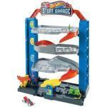 HOT WHEELS GNL70 Stunt-Garage Spielset, Parkhaus inkl. 1 Spielzeugauto, Parkgarage