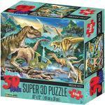 Howard Robinson hr10806Super 3D Dinosaurier Valley Puzzle (150-tlg.)