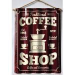 HTI-Line Metallschild »Blechschild Coffee«, Blechschild, bunt