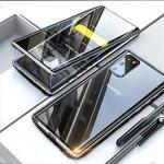 Silberne Elegante Samsung Galaxy Cases Art: Slim Cases durchsichtig mit Schutzfolie