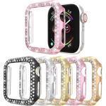 Hüllen Für Apple iWatch Apple Watch Serie 7 / SE / 6/5/4/3/2/1 / Apple Watch Series SE / 6/5/4/3/2/1 Kunststoff Displayschutzfolie Smartwatch Hülle Kompatibilität 38mm 42mm 40mm 44mm Lightinthebox