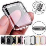 Hüllen Für Apple iWatch Apple Watch Serie 7 / SE / 6/5/4/3/2/1 / Apple Watch Series SE / 6/5/4/3/2/1 TPU Displayschutzfolie Smartwatch Hülle Kompatibilität 38mm 42mm 40mm 44mm Lightinthebox