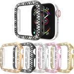 Hüllen Für Apple iWatch Apple Watch Serie 7 / SE / 6/5/4/3/2/1 Kunststoff Displayschutzfolie Smartwatch Hülle Kompatibilität 38mm 42mm 40mm 44mm Lightinthebox