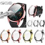 Hüllen Für Huawei Huawei Watch GT 2e / Huawei Watch GT 2 46MM / Huawei Watch GT 2 42MM Kunststoff / Gehärtetes Glas Displayschutzfolie Smartwatch Hülle Kompatibilität Lightinthebox