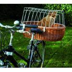 Hunde Fahrradkorb XXL für Gepäckträger, XL - 68 cm x 46 cm x 18/40 cm