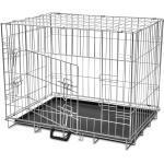 Hundebox Transportbox Hundekäfig Gitterbox Hund Welpe klappbar Welpenlaufstall
