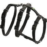 Schwarze Hunter Lederartikel Hundegeschirre