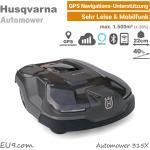 Husqvarna Automower 315X mit GPS, Mobilfunk, 10 Jahre kostenloser Datenverbindung