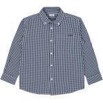 Marineblaue Langärmelige Hust & Claire Kinderhemden für Jungen für den Sommer