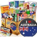 I love Australia / Geschenk Australien / DDR Spezialitäten Set