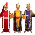 I Love Fancy Dress Ltd Krippenspiele Weihnachts Kinder Kostüm Verkleidung. Die Heiligen 3 Könige. Das Perfekte Kostüm Für Schulauführungen An Weihnachten Oder In Der Vorweihnachtszeit. Der Rote -Xl