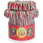 I love Likz Zuckerstangen 14cm rot-grün-weiß 72er